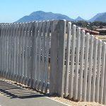 Concrete Palisade Fencing